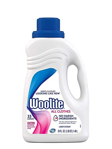 Woolite Clean amp Care Liquid Laundry Detergent 33 Loads 50oz Regularamp HE Washer Gentle Cycle sparkling falls scent  Pack Of 2   Packaging May Vary