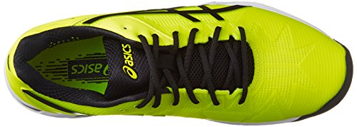 『[アシックス] テニスシューズ GEL-SOLUTION SPEED 3 OC (旧モデル) メンズ フラッシュイエロー/ブラック 26.5』の4枚目の画像