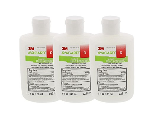 3M 9221 Avagard D Instant Hand Antiseptic with Moisturizers- Pack of 3