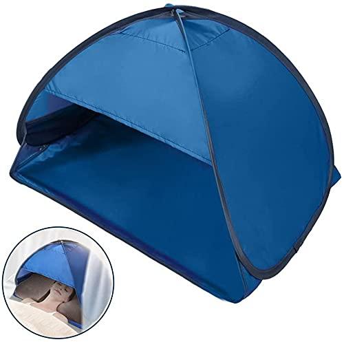 WYBD Tienda De Reposacabezas, Pop Up Portable Mini Playa Personal Sun Shelter, Tienda De Protección De La Sombra De La Cara, Portátil Sun Shelter Head Shade Protection Tienda para La Playa