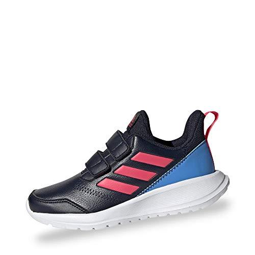 adidas Performance G27230 Altarun CF Jungen Mädchen Sportschuh aus Mesh Textilausstattung, Groesse 37 1/3, dunkelblau/pink