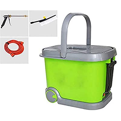 LALAWO Easy to operate, 36L Electric Hand-Carry Portable Pressure Washer Electric Pressure Washer with Hose Reel For Lawns and Gardens Simple and fast from LALAWO
