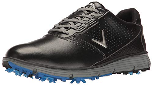 Callaway Men's Balboa TRX Golf Shoe, Black/Grey, 9.5 D US
