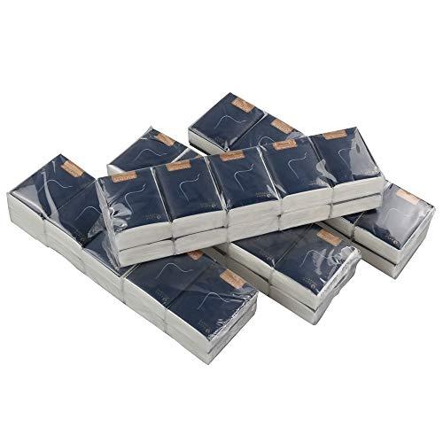 Neadas Fazzoletti a 4 Veli di Carta, Mini Fazzolettini Di Carta, 40 Pacchetti