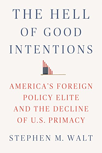 Image of The Hell of Good Intentions: America's Foreign Policy Elite and the Decline of U.S. Primacy