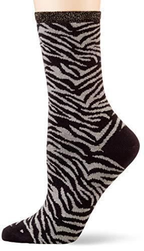 Preisvergleich Produktbild Hudson Damen Zebra-15174 Socken,  Schwarz (Black 0005),  (Herstellergröße: 39 / 42)