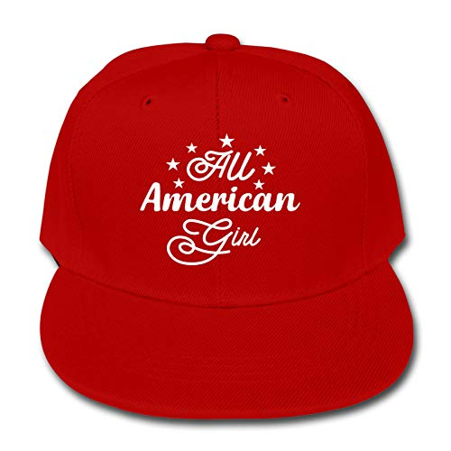 All American Girl 4th Of Julio Niños Animal Farm Quick Buckle Hat Gorra de béisbol Hip Hop Cap