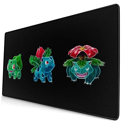 Mouse Pad Bulbas-AUR Large Gaming Mousepad Extended Desk Mat Ultra Thick Mousepad for Office Gamer Home 29.5'X15.8'