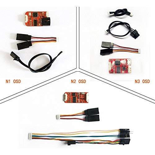 LaDicha FPV N1/N2/N3 Mini Osd para El Controlador De Vuelo dji Phantom 2 Naza V1 V2 Lite Remzibi GPS para RC Drone - N1