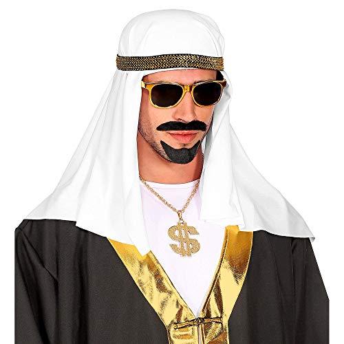 Widmann 09567 Scheich Kopfbedeckung, Herren, Weiß, Einheitsgröße