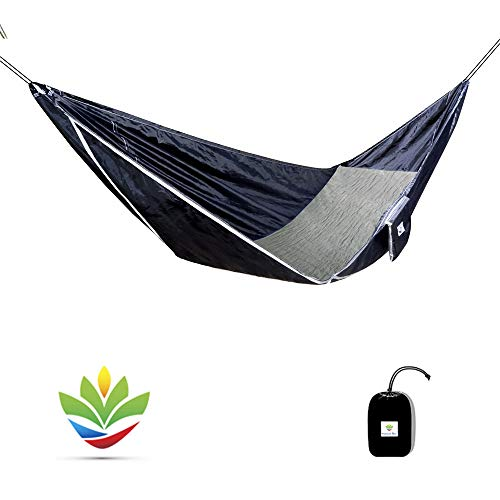 Hammock Bliss Sky Bed - Hangs Like A Hammock But Sleeps Like A Bed - The Flattest Laying Camping Hammock On Earth