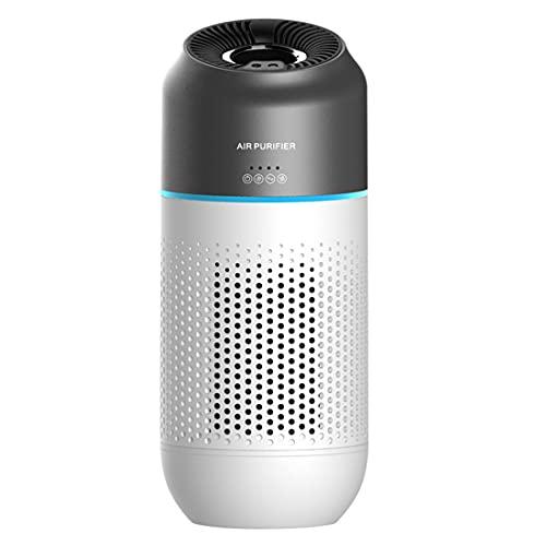 KOOMTOOMSmart Car Air Purifier Air Cleaner for Allergies, Smokers – Filters 99.97% of Allergens, Dust, Pet Hair, Pollen, Smoke, Odors