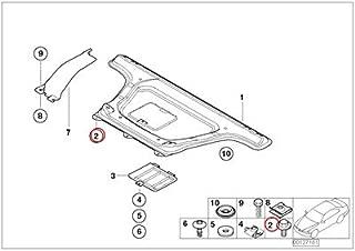 BMW Genuine Headlining Headliner Installation Kit Alarm System Cover Light Beige 320i 323Ci 323i 325Ci 325i 325xi 328Ci 328i 330Ci 330i 330xi