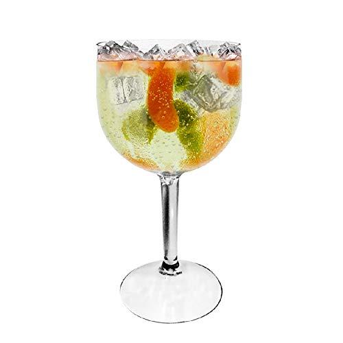 Conjunto de 2 taças para gin em acrilico 550ml Tanqueray