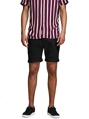 JACK & JONES Herren JJIENZO Chino WW 01 STS Shorts, Schwarz (Black) , XL