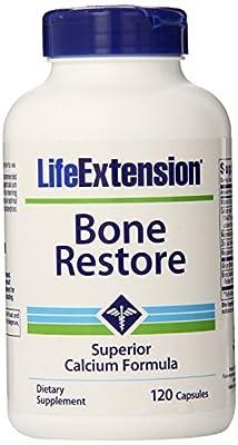 Life Extension Bone Restore Superior Calcium (120 Capsules) by Life Extension