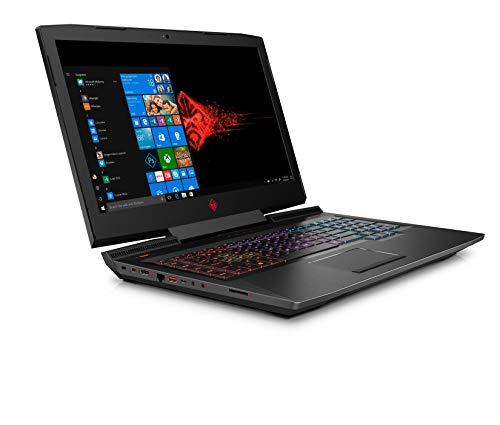HP OMEN 17-an101na 17.3-Inch FHD Gaming Laptop - (Black) (Intel i7-8750H, 8 GB RAM, 1 TB Plus 128 GB SSD, NVIDIA GeForce GTX 1060 Graphics, 6 GB Dedicated, Windows 10 Home)