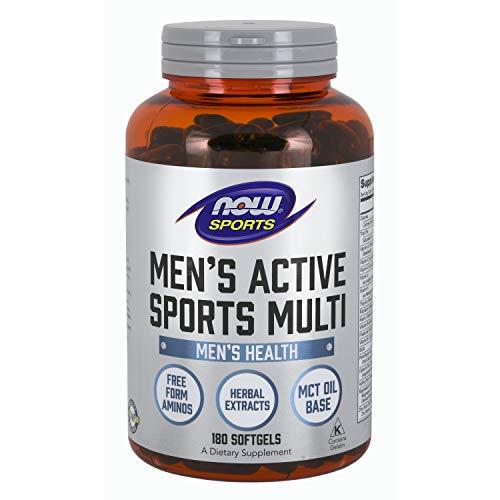 Now Foods Men's Extreme Sports Multivitamin, 180 sgels