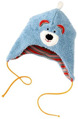 Lana Bruno 96 1803 5049 Bonnet unisexe pour bébé - Bleu - 50/52