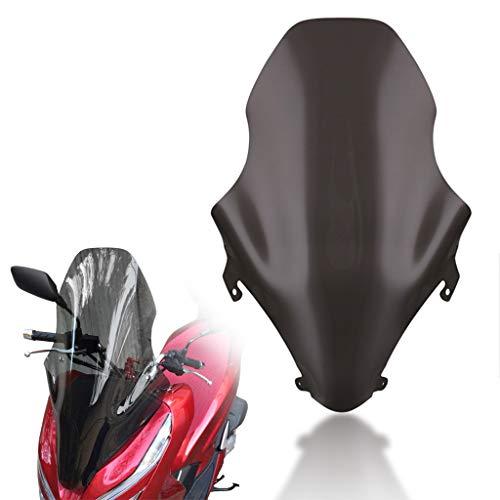 PSLER® Parabrisas Delantera, Motocicleta Tablero de Deflectores de Viento para PCX 125 150 2018-2019