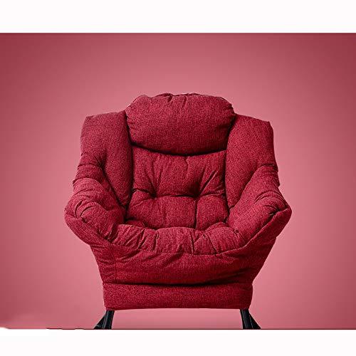 AiHerb.LO JL HX Confortable Et Simple Petit Appartement Canapé Paresseux Balcon Paresseux Chaise Chambre Dortoir Retour Simple Pliant Canapé Chaise Simple Petit Canapé A+ (Couleur : C)