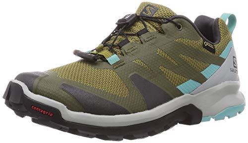 SALOMON Calzado Bajo XA ROGG GTX, Zapatillas de Trail Running Mujer, Martini Olive, 44 EU