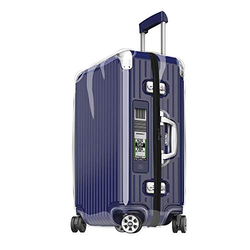 Sunikoo Cover for RIMOWA Limbo Luggage Transparent Skin Suitcase with Black Zipper