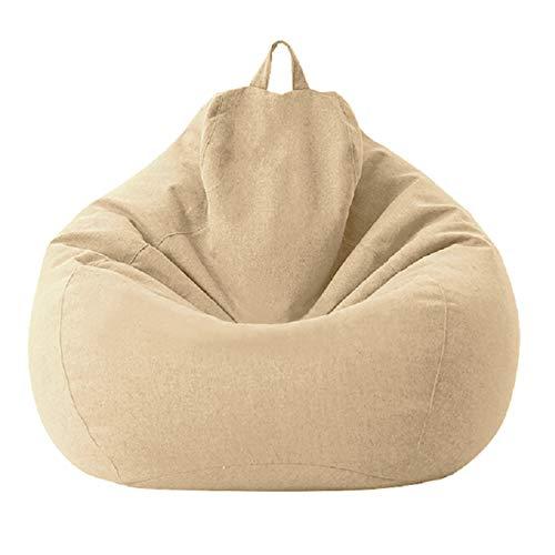 ZZLBUF Funda para puf de almacenamiento de animales para sofá, funda de relleno impermeable para niños