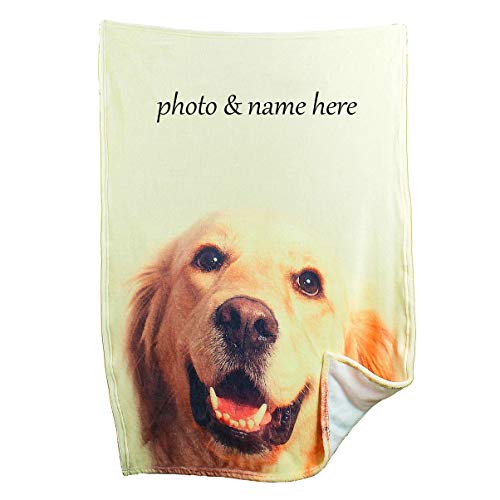 Custom Blanket with Picture Personalized Throw Photo Printing Soft...