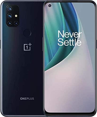 OnePlus Nord N10 5G BE2028 128GB Carrier Unlocked Smartphone - Midnight Ice (Renewed)