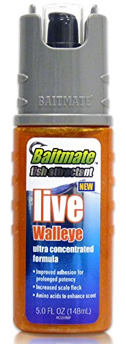 Baitmate Fish Attractant Live Walleye Scent, 5 Fluid-Ounce Spray
