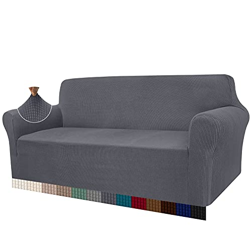 Granbest High Stretch Sofa Covers 3 Seater Super Soft Stylish Couch Covers...