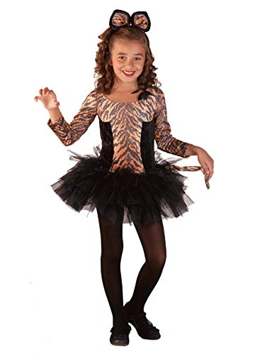 Clown Republic- Jolie Petite Tigresse Costume, CS35004/8, Multicolore, 8 Ans