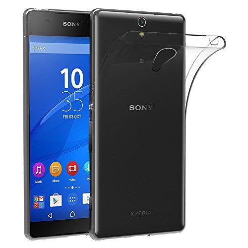 ebestStar - Funda Compatible con Sony Xperia C5 Ultra, C5 Ultra Dual E5533 Carcasa Silicona, Protección Crystal Clear TPU Gel, Ultra Slim Case, Transparente [Aparato: 164.2 x 79.6 x 8.2mm, 6.0'']