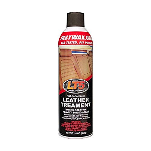 Fast Wax LT5 High Performance Leather Treatment Cleaner and Conditioner by FW1 (1 Pack)