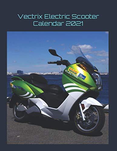 Vectrix Electric Scooter Calendar 2021