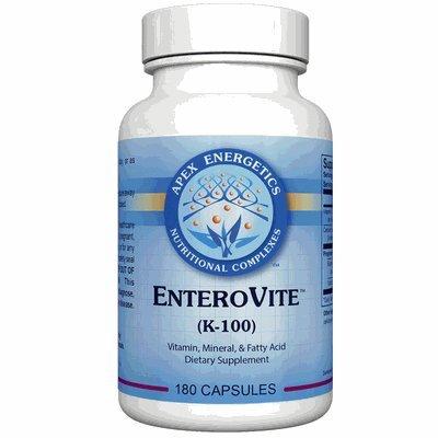 EnteroVite (K-100) Apex Energetics, 180 Capsules