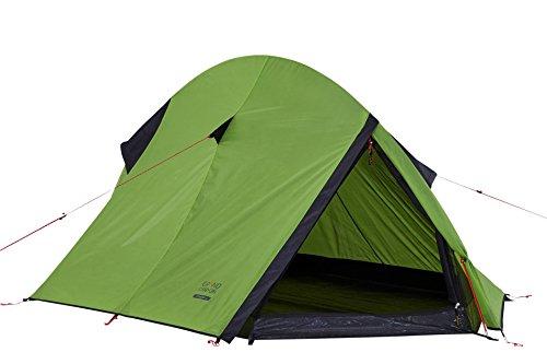 Grand Canyon Cardova 1 - leichtes Zelt, 1 - 2 Personen, für Trekking, Camping, Outdoor, Festival mit kleinem Packmaß, einfacher Aufbau, Wasserdicht, grün, 302006