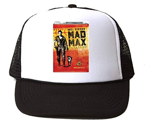 KRISSY Mad Max Mel Gibson Cover Art Old Baseball Cap Unisex Mütze Kappe One Size