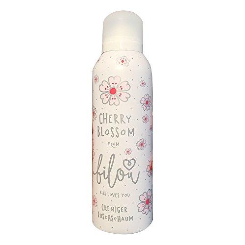 bilou Duschschaum Cherry Blossom (200 ml Flasche)
