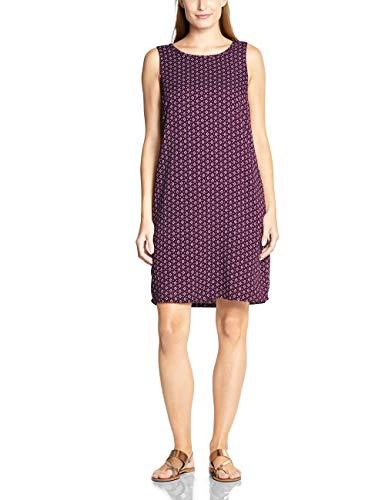 Cecil Damen Kleid, Mehrfarbig (deep berry), X-Large (Herstellergröße:XL)
