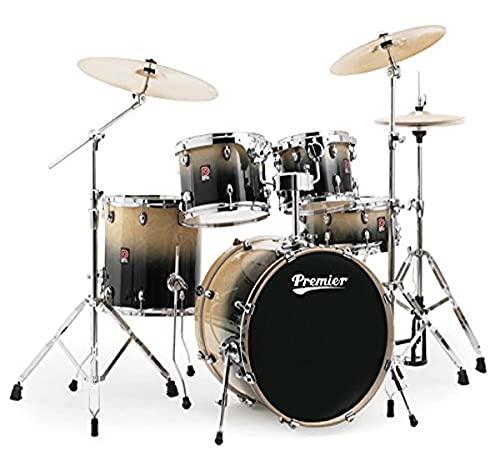Premier Drums XPK Lacquer Birch Series 6489925NFL 5-Piece Drum Set, Natural Fade