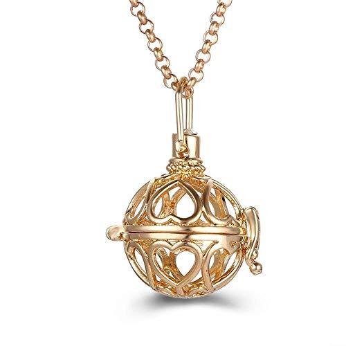 Preisvergleich Produktbild Ätherisches Öl Diffusor Halsketteherzförmige Halskette Mit Ätherischen Ölen Für Die Aromatherapie
