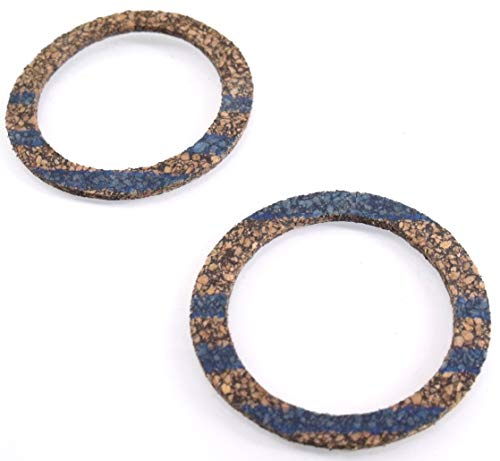 Discounting Online 2 Fuel Cap Gaskets Replaces McCulloch 69767 Used on ChainsawMac 10-10, Promac 10-10, 10-10S, Super 10-10A Pro Mac 60 Super Pro 80, 81, 81E Pro Mac 55, 555, 570, 700, 800.