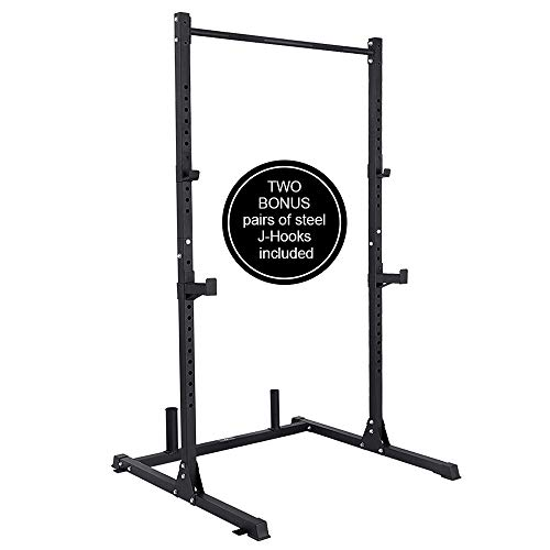 PAPABABE Power Rack for Weightlifting, Bodybuilding and Strength Training Squat Rack Exercise...