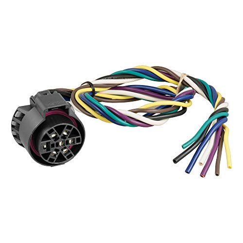 CURT 56229 Replacement USCAR Connector Wiring Harness, 24-Inch Wires, 7 Pin...