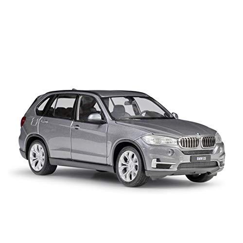 Coche De Juguete Fundido A Escala 1:24 para BMW X5, Modelo De Simulación, SUV Clásico, Coche De Juguete De Aleación De Metal para Colección De Regalos para Niños Colección (Color : Gray, Size : A)