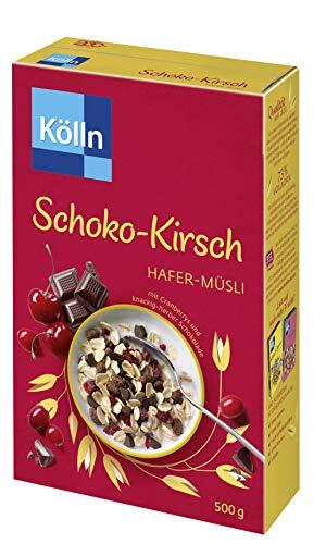 Kölln Müsli Schoko Kirsch, 7er Pack (7 x 500 g)