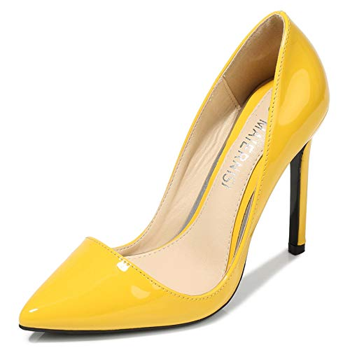 Zapatos de tacón Alto para Mujer, Puntiagudos, Zapatos de tacón con Estilo, Fiesta, Primavera, otoño, tacón Fino, Vestido Poco Profundo, Zapatos de Corte de Noche