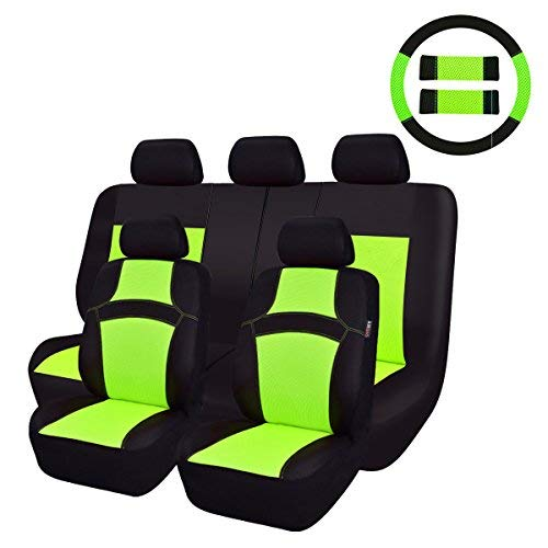 neon green seat covers - 3